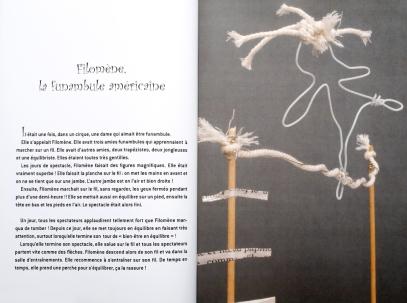 24 Filomène, la funambule américaine - © B. Runtz