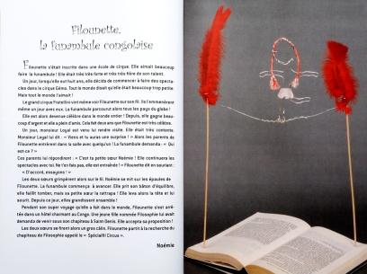14 Filounette, la funambule congolaise - © B. Runtz