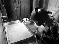 5 Façonnage d'une reliure soudée par procédé TIG - © B. Runtz