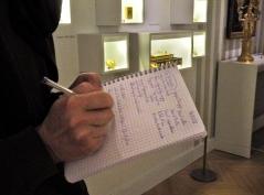 Dans l'exposition L'empire en boîte - atelier du 15 décembre - © B. Runtz