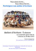 Affiche ateliers d'écriture - Centre de Détention de Châteaudun
