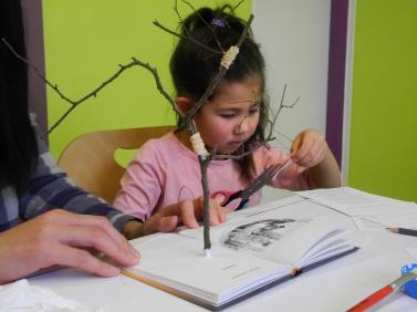 16 Chaque livre est un arbre - Médiathèque de Vélizy-Villacoublay - © B. Runtz