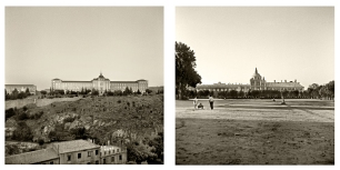 © B. Runtz / La ropa tendida en la terraza- El gran campo de bolas