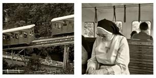 © B. Runtz / ¿Adónde nos llevan los funiculares? - Sólo Dios sabe, tal vez ...