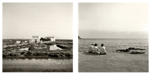 © B. Runtz / A través de la ventanilla del tren - Regresar al mar, por la ternura del atardecer