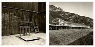© B. Runtz / Para sopesar recuerdos - Como un sanatorio en desuso